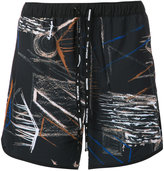 "The Upside 5"" printed shorts - men - Polyester/Spandex/Elastane - M"