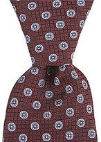 Hart Schaffner Marx Grid Neat Traditional Silk Tie