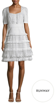 Temperley London Sea Cotton Fit And Flare Dress