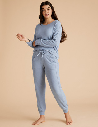 Marks and Spencer Cosy Cuffed Hem Lounge Jogger