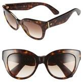 Kate Spade 'sharlots' 52mm Sunglasses
