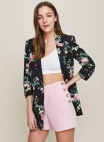 Miss Selfridge Petite pink tailored shorts