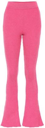 Loewe Wool-blend flared pants