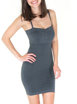 JEWEL TONED Jewel Toned The Major Mini Dress Body Shaper Slip