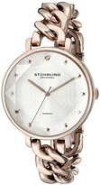 Stuhrling Original Women's 596.05 Vogue Analog Display Quartz Rose Gold Watch