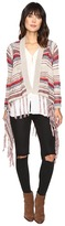 Brigitte Bailey Zinnia Long Sleeve Crocheted Cardigan