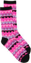 K. Bell Women's Heart Crew Socks