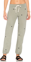 Sundry Star Patches Sweatpant in Gray