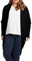 Tart Plus Size Women's Darla Linen Blend Open Cardigan
