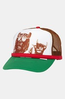 Quiksilver 'Terg Ferg' Trucker Hat (Boys) Green One Size