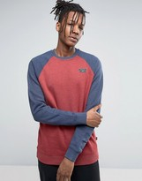 Vans Rutland Sweatshirt In Red