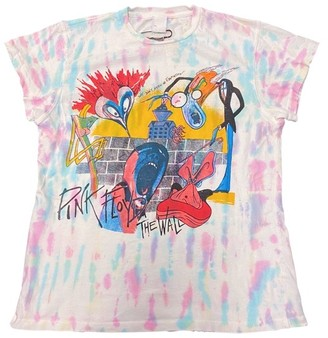 Singer22 Pink Floyd The Wall Tie Dye Crew Tee