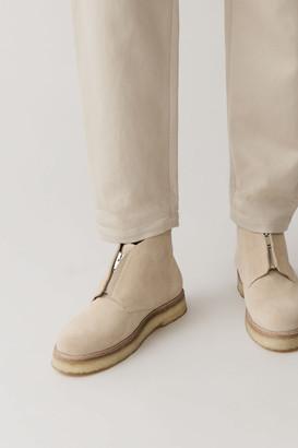 Cos Suede Desert Boots With Zip