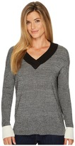 Smartwool Akamina Color Block V-Neck Sweater Women's Sweater