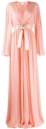 Giambattista Valli Silk Long Draped Gown