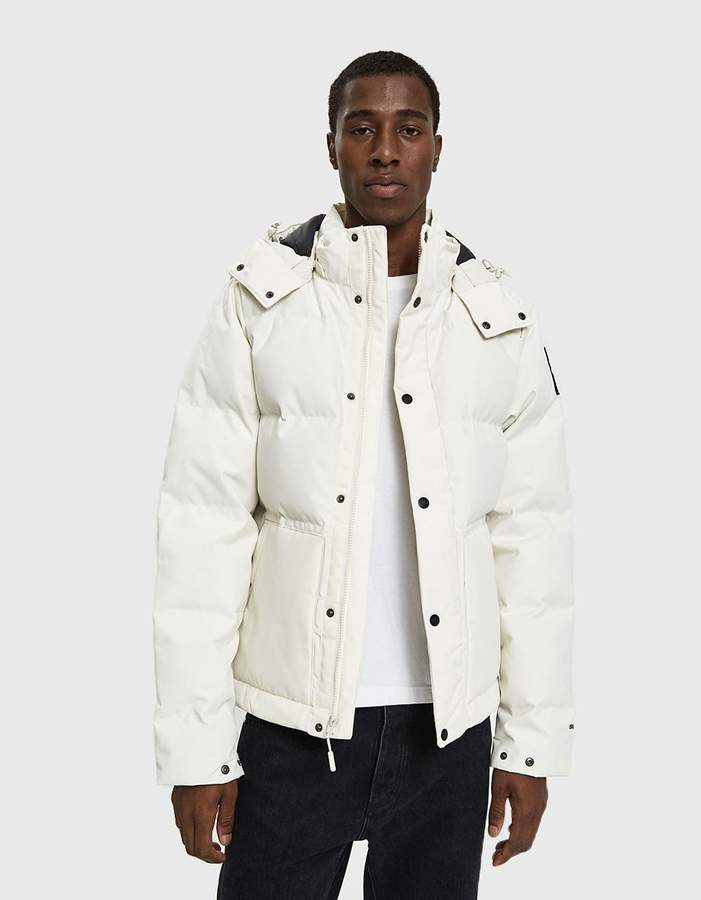 The North Face Black Box Box Canyon Jacket in Vintage White
