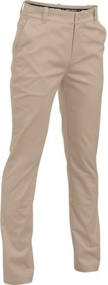 Under Armour Boys' UA Uniform Chino Slim Fit Husky Pants