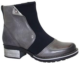 Dromedaris Leather & Neoprene Ankle Boots -Kassia Neoprene