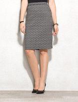 dressbarn roz&ALI Medallion Print Pencil Skirt