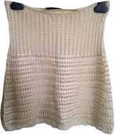 Prada Hippy-chic crochet skirt