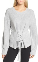 Trouve Women's Corset Sweater