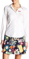 Love Moschino Embroidered Shirt