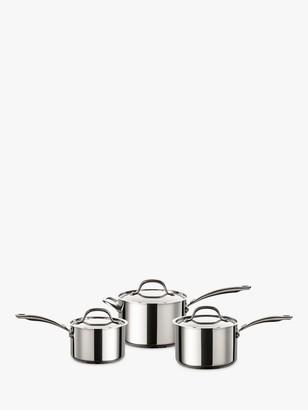 Circulon Ultimum Stainless Steel Pan Set, 3 Pieces