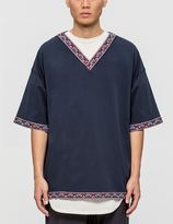 White Mountaineering Original Taped V Neck Pullover S/S Shirt