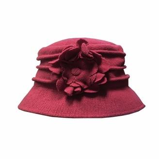 Jane Anne Designs Womens Melanie Cloche Bucket Hat Pink - One Size