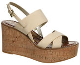 Sam Edelman Destiny Leather Platform Wedge Sandals