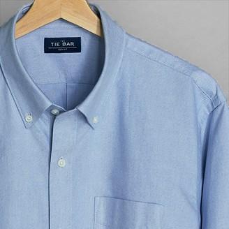 Tie Bar The Modern-Fit Oxford Light Blue Casual Shirt