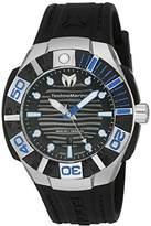 Technomarine Men's 'Black Reef' Swiss Quartz Stainless Steel Casual Watch (Model: TM-515011)