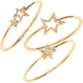 Gorjana Super Star Set of 3 Rings