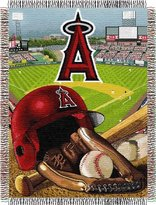 Northwest Enterprises MLB Tapestry Throw MLB Team: Los Angeles Angels of Anaheim