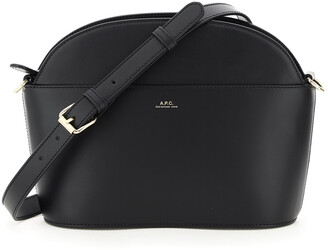 A.P.C. GABRIELLA BAG OS Black Leather