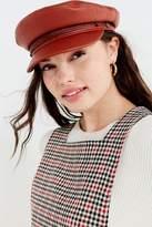 Brixton + UO Fiddler Faux Leather Fisherman Hat