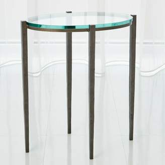 Global Views Petite Oval End Table