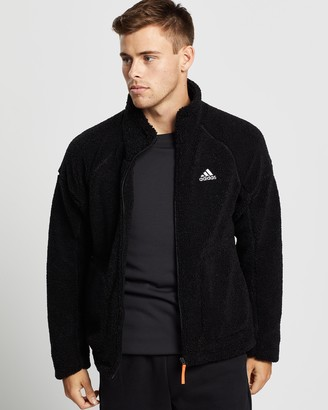 adidas Sherpa Fleece Jacket - Men's