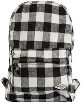 Billabong Hand Over Love Plaid Backpack