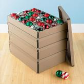 Container Store 28-Compartment Archival Ornament Box