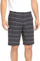 Travis Mathew EZ Peezy Stripe Hybrid Short