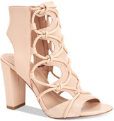 BCBGeneration Faye Peep-Toe Sandals