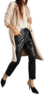 Sanctuary Keep It Cool Faux Shearling Duster Jacket