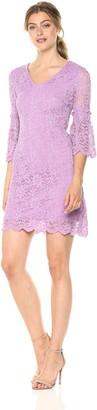 Taylor Dresses Women's Bell Sleeve Lace Dress
