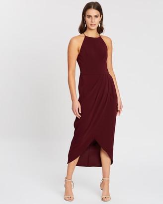 Cooper St Avery High Neck Drape Dress
