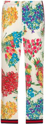 Gucci Pre-Owned floral print trousers