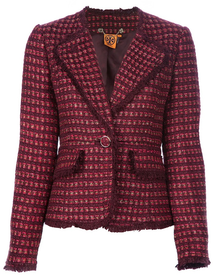 Tory Burch tweed jacket