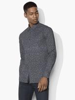 John Varvatos Mayfield Geometric Dice Shirt