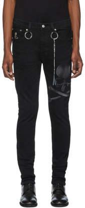 Mastermind World mastermind WORLD Black Faded Skull Jeans