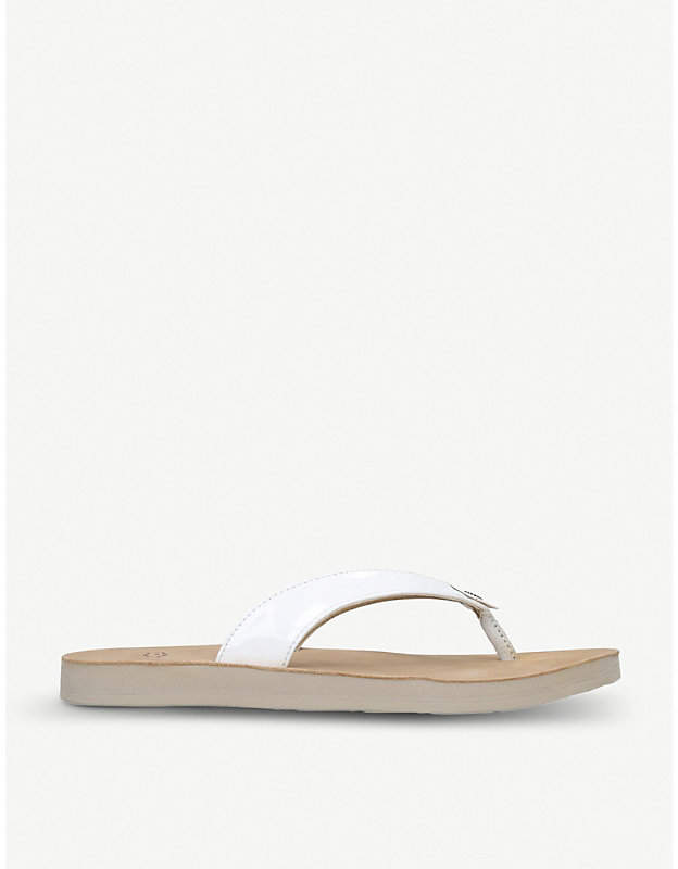 3ade8a24253 Tawney leather flip-flops